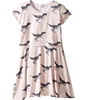 Paul Smith Junior - Short Sleeve Dress w/ Dino Prints (Big Kids)