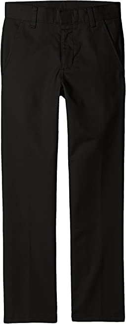 Nautica Kids - Husky Flat Front Pants (Big Kids)