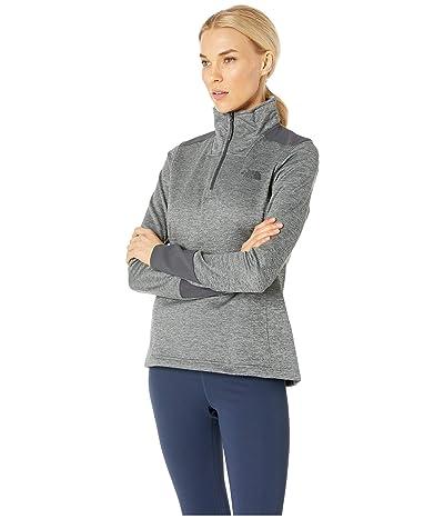 The North Face Shastina Stretch 1/4 Zip (TNF Medium Grey Heather/Asphalt Grey) Women