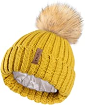 green and yellow bobble hat