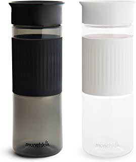 Munchkin Miracle 360 Cup, 2 Pack, 24 Ounce, Black and White
