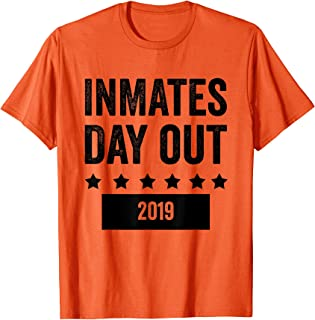 Funny Group Vacation Jail Prison Costume 2019 Joke T-Shirt