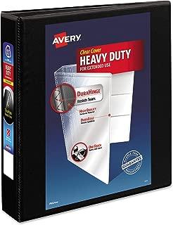 Avery Heavy-Duty View 3 Ring Binder, 1.5