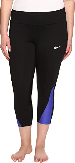 Power Running Crop (Sizes 1X-3X)