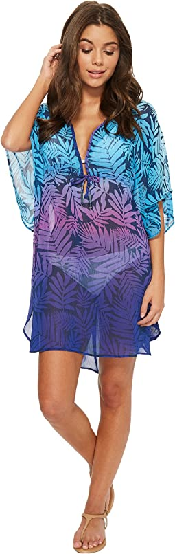 Island Heat Caftan Cover-Up
