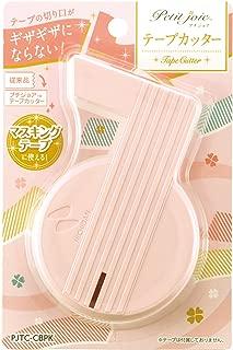 ニチバン プチジョアシリーズ テープカッター PJTC-CBPK ピンク