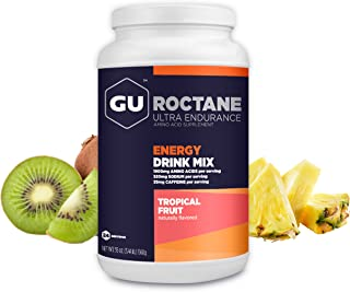 GU Energy Roctane Ultra Endurance Energy Drink Mix, Tropical Fruit, 3.44-Pound Jar