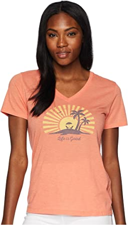Sunset Chill Cool Vee Tee