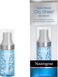 Neutrogena Hydro Boost City Shield Hydrating Eye Serum with Hyaluronic Acid, Antioxidants, and Multivitamin Capsules for P...