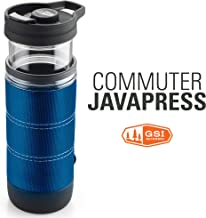 GSI Outdoors Commuter JavaPress, French Press Coffee Mug