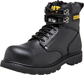 Caterpillar Second Shift Steel Toe Hommes US 10 Noir