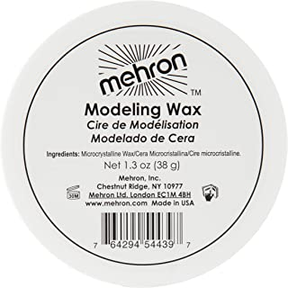 mehron modeling putty wax