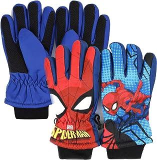 couleur : 1 ZCZWQ Gants Spider-Man en laine pour enfant B/éb/é dessin anim/é Huang pour lautomne lhiver