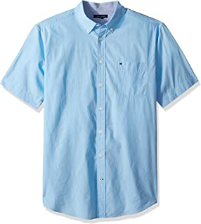 Men's Big & Tall Short Sleeve Button Down Shirt in Classic Fit