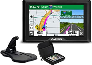 Garmin Drive 52 GPS Vehicle Navigator   2019 Model   Bundle with Premium Dashboard Friction Mount & PlayBetter Hard Protective Case   No Traffic, Voice Directions, Easy-to-Read 5