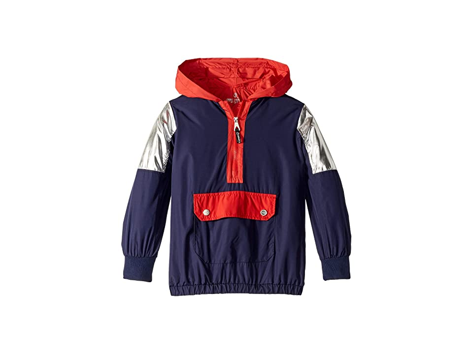 Urban Republic Kids Windbreaker Pullover (Little Kids/Big Kids) (Navy) Girl