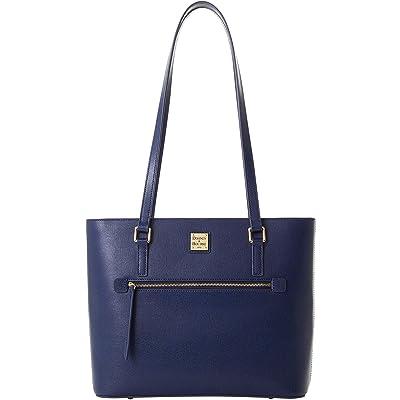 Dooney & Bourke Saffiano Shopper (Marine) Handbags