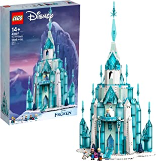 LEGO Disney The Ice Castle 43197 Building Toy Kit; A Gift That Inspires Independent Princess...