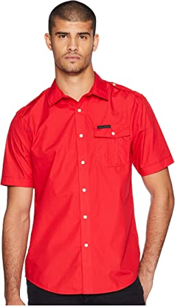 Short Sleeve Solid Shirt
