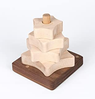 Star Stacker Wood Puzzle Toy