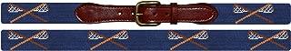 Smathers & Branson Old School Lacrosse Traditional Needlepoint Belt (B-042)