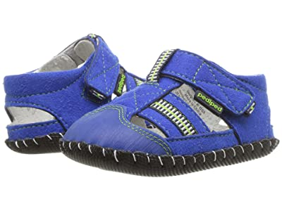 pediped Gustan Original (Infant) (Blue/Lime) Boy