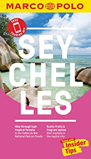 Seychelles Marco Polo Pocket Travel Guide - with pull out map
