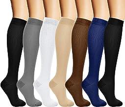 arteesol Compressie sokken voor dames en heren, compressiekousen vluchtsokken voor dames dames heren, kalf compressiekouse...