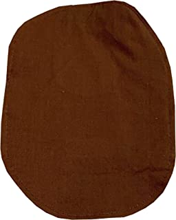 Ostomy Bag Cover Brown, 3.25 inch Opening
