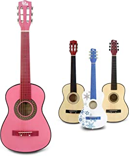 CB SKY 30-inch Pink Classical Guitar/Girls Gift/Kids Musical Toys/Musical Instrument