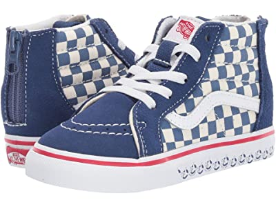 Vans Kids Sk8-Hi Zip (Infant/Toddler) ((Vans BMX) True Navy/White) Boys Shoes
