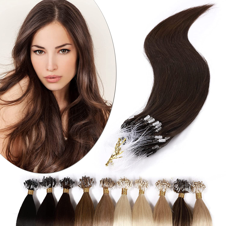 SEGO Micro Cheap mail order sales Ring Hair Extensions Alternative dealer 18 50g Bala 100% Inch Human