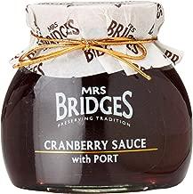 Mrs Bridges Cranberry Sauce with Port, 8.8-Ounce