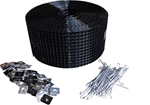 """6"""" Squirrel Guard Kit. 6 in. 100 ft. PVC Coated Galvanized Steel roll and 100 Aluminum Fasteners."""