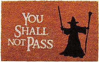 getDigital 8582 Paillasson You Shall Not Pass inspiré du Seigneur des Anneaux – Multicolore - 60 x 40 cm