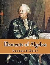 elements of algebra euler