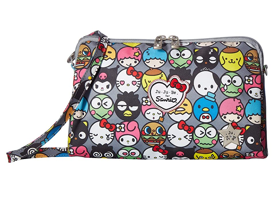Ju-Ju-Be Sanrio Collection Be Set Three-Piece Travel Set (Hello Friends) Travel Pouch