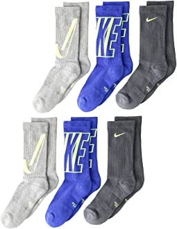 27b807997 Search Results. Multicolor 2. 22. Nike Kids. Performance Cushioned Crew  Training Socks 6-Pair Pack ...