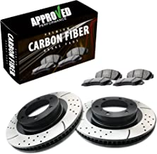 Approved Performance C1982 - [Front Kit] Performance Drilled/Slotted Brake Rotors and Carbon Fiber Pads