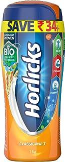 Horlicks Health and Nutrition drink - 1 kg Pet Jar (Classic Malt)