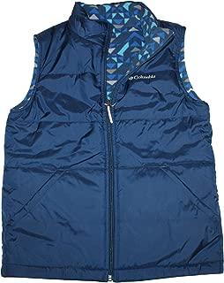 Columbia youth Kids Boys Ice Chips II Reversible Fleece Puffer Vest Black