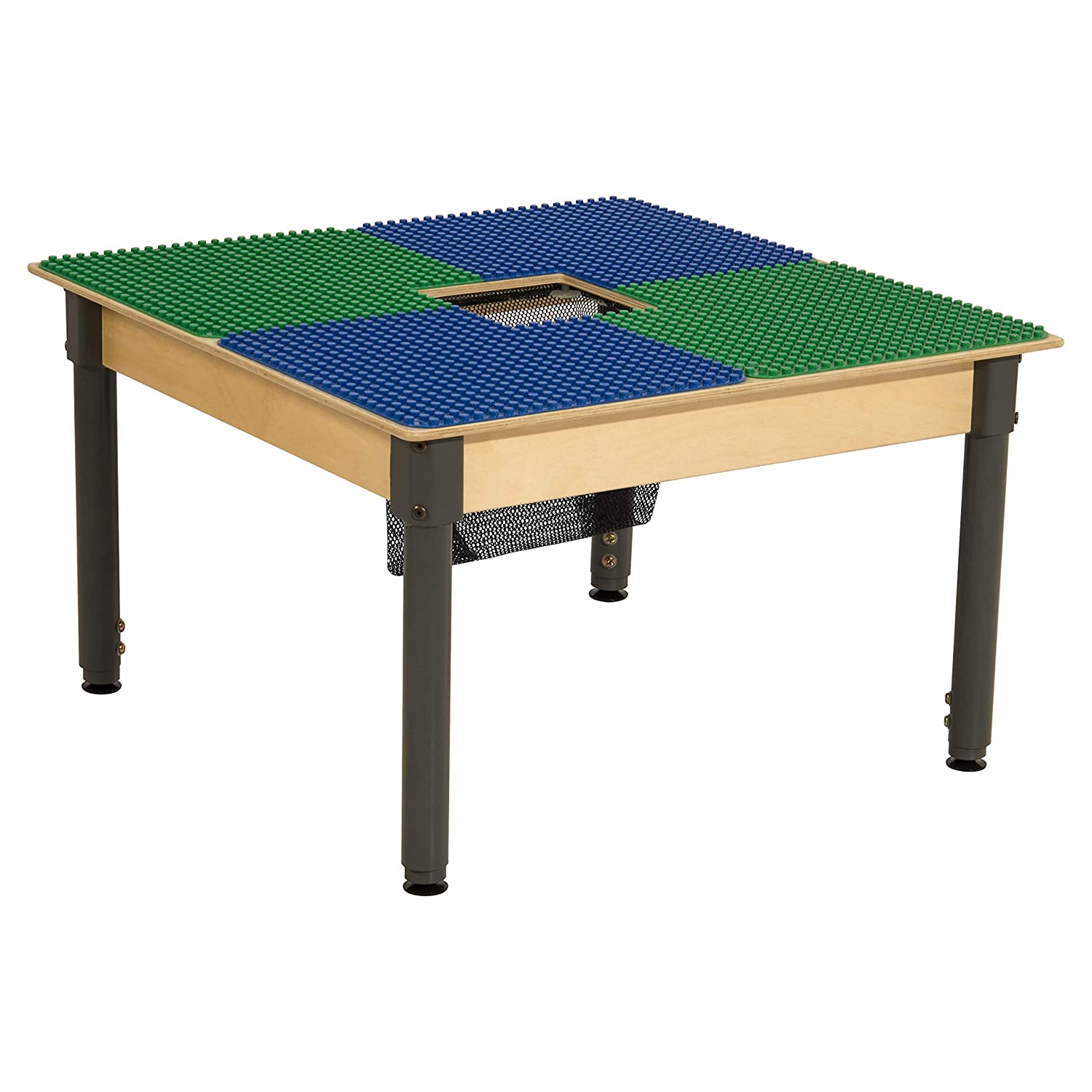 Time-2-Play Duplo Compatible Table Latest item A surprise price is realized with Adjustable and Storage L