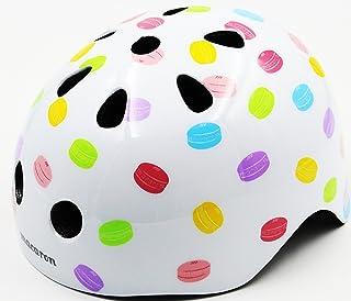 ジェフリーズ ヘルメット macaron 子供自転車用 軽量/マグネット式バックル仕様 Dessert 50-54cm