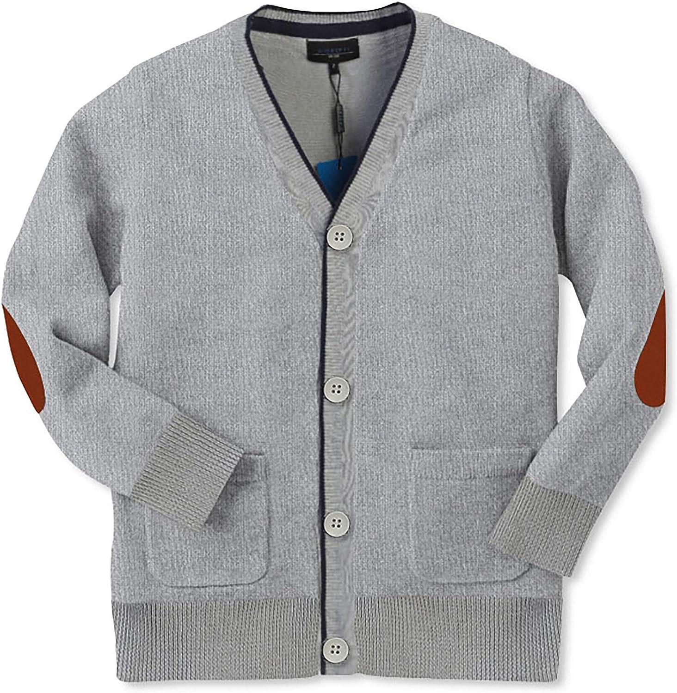 Gioberti Boy's 100% Cotton Light Weight Knitted Cardigan Sweater