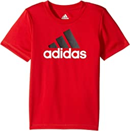 adidas Kids - Clima Performance Logo Tee (Toddler)