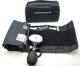 One Hand Manual Blood Pressure Cuff Large Adult size   Aneroid Sphygmomanometer , FDA approved
