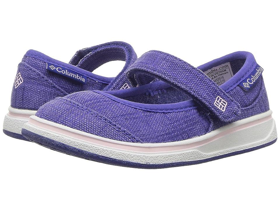 Columbia Kids Kylie (Toddler/Little Kid/Big Kid) (Clematis Blue/Satin Pink) Girls Shoes