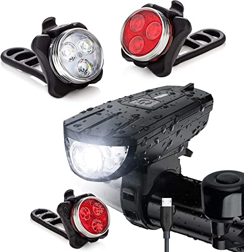 2021 Vont Basic Bike Lighting Bundle - Pyro & Breeze Bike Light Set wholesale - online Reliable Lighting Partner for Any Biking Trip - Brighten Up Your Track, Trail, & Road Ahead - Be Visible to Approaching Vehicles outlet sale