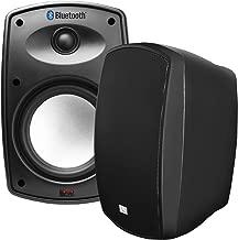 "OSD Audio 6.5"" Bluetooth Outdoor Patio Speaker –Wireless Stereo Pair, Black - BTP650"