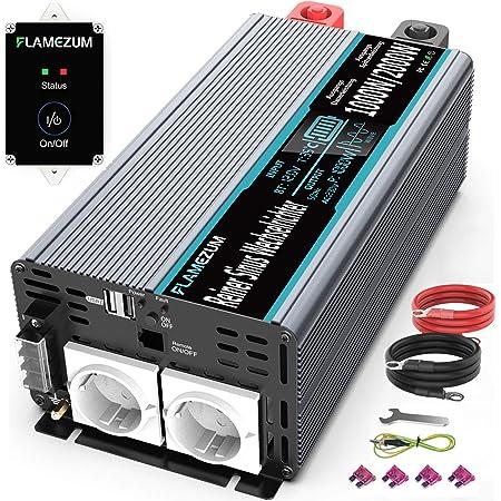 1000w Reiner Sinus Wechselrichter 12v Auf 230v Elektronik